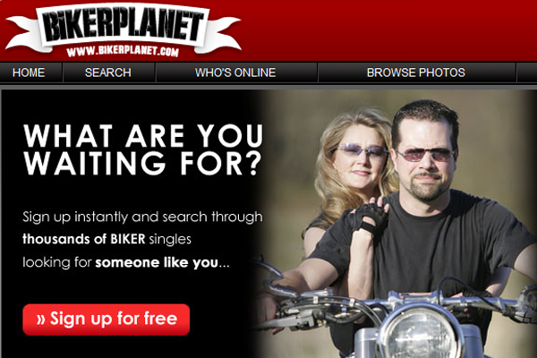 Biker planet dating site